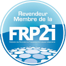 FRP2i badge membre logo